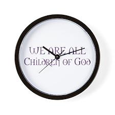 Children of God Wall Clock