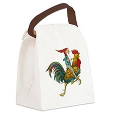 gnome-x3 Canvas Lunch Bag