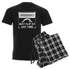 Warning may Flip gymnastics Pajamas