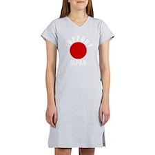 support japan white Women's Nightshirt