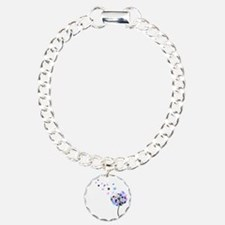 Dandelion rainbow Bracelet