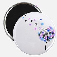 Dandelion rainbow Magnet