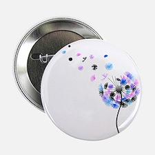 """Dandelion rainbow 2.25"""" Button"""