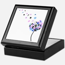 Dandelion rainbow Keepsake Box