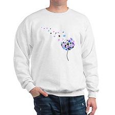 Dandelion rainbow Sweater
