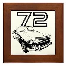 MG 1972 copy Framed Tile