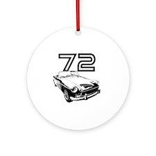 MG 1972 copy Round Ornament