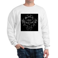 Punisher SkullBkBg_edited-2 Sweatshirt