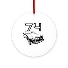 MG 1974 copy Round Ornament