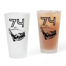 MG 1974 copy Drinking Glass