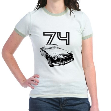 MG 1974 copy Jr. Ringer T-Shirt