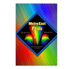rainbow 22 Postcards (Package of 8)