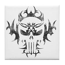 Punisher Skull Tile Coaster