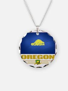 Oregon (Flag 10)1 Necklace