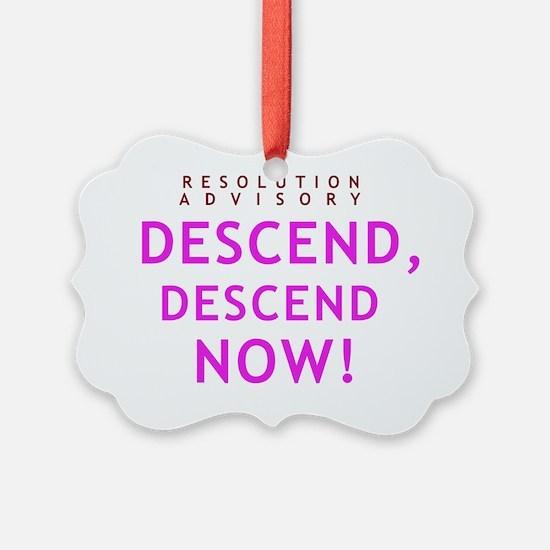 descend-1 Ornament