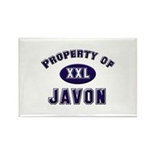 Property of javon Rectangle Magnet