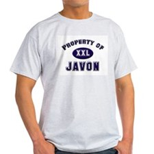 Property of javon Ash Grey T-Shirt