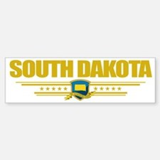 South Dakota (Flag 10) pocket Bumper Bumper Sticker