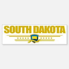 South Dakota (Flag 10) pocket Car Car Sticker