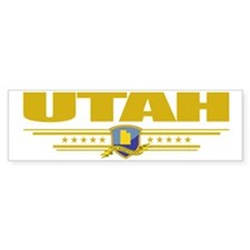 Utah (Flag 10) pocket Bumper Sticker