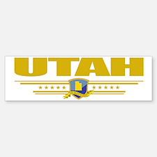 Utah (Flag 10) pocket Sticker (Bumper)