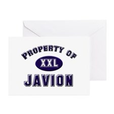 Property of javion Greeting Cards (Pk of 10)