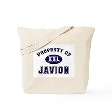 Property of javion Tote Bag