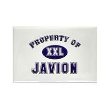 Property of javion Rectangle Magnet