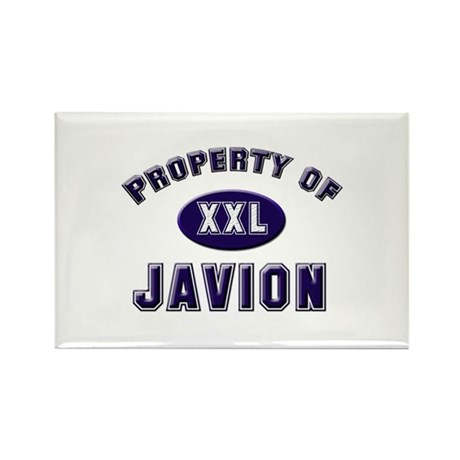 Property of javion Rectangle Magnet