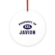 Property of javion Ornament (Round)