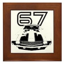 Camaro 1967 copy Framed Tile