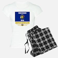 Wisconsin (Flag 10) Pajamas