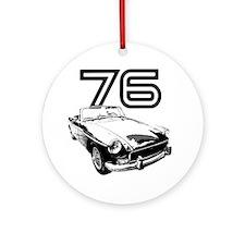 MG 1976 copy Round Ornament