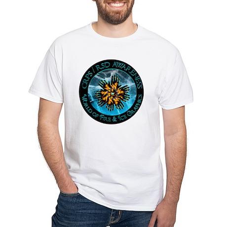 HIGH RES Round Awareness World of White T-Shirt