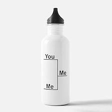 You Me bracket-1 Water Bottle