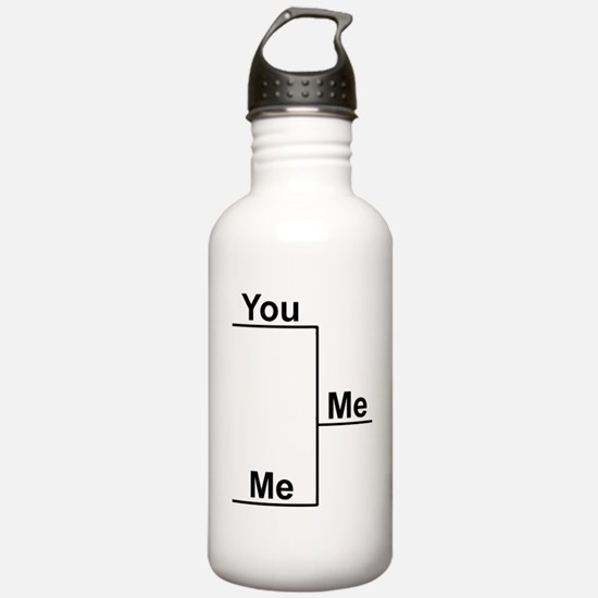 You Me bracket-1 Water Bottle