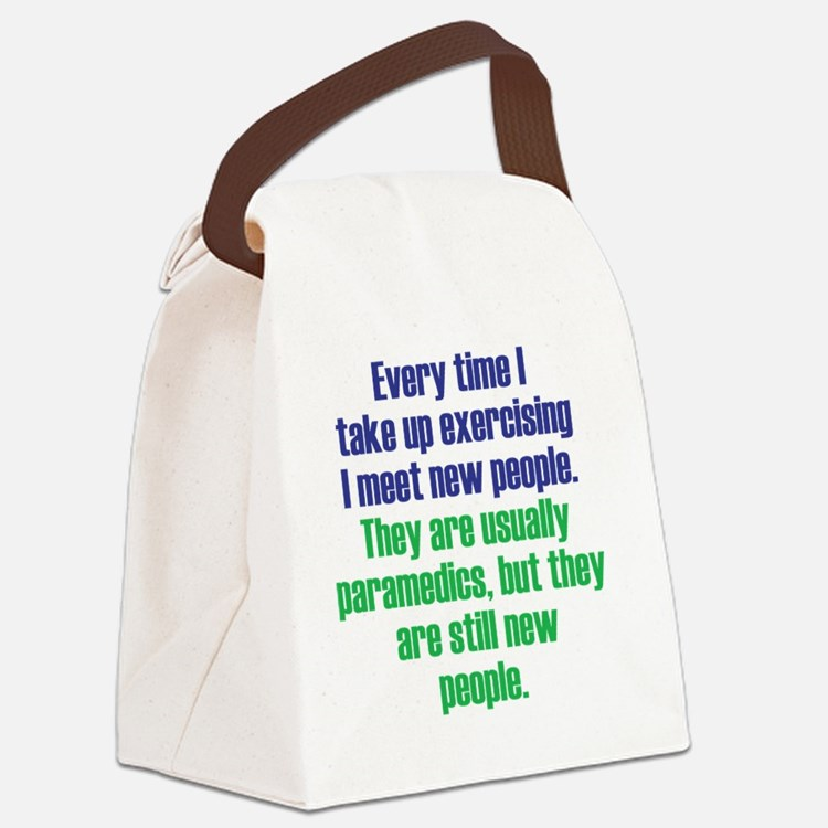 exercising_rnd2 Canvas Lunch Bag