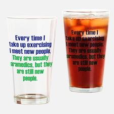 exercising_rnd2 Drinking Glass