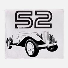 MG TD 1952 copy Throw Blanket