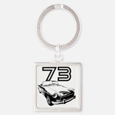MG 1973 copy Square Keychain