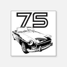 "MG 1975 copy Square Sticker 3"" x 3"""