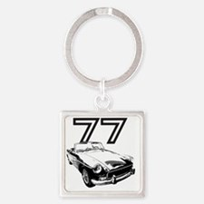 MG 1977 copy Square Keychain