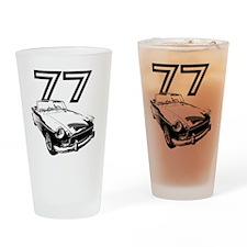 MG 1977 copy Drinking Glass
