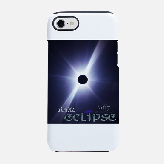 2017 Total Eclipse - Real Phot iPhone 7 Tough Case