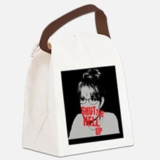 Shut The Hell Up Palin Canvas Lunch Bag