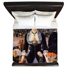 A Bar at Folies Bergere King Duvet