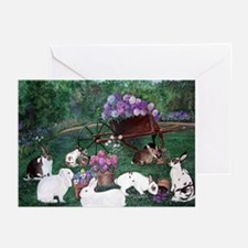 Picnic Bunnies Greeting Cards (Pk of 10)