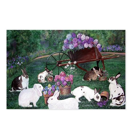 Picnic Bunnies Postcards (Package of 8)
