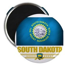 South Dakota (Flag 10) Magnet