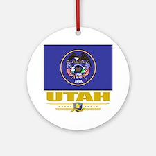 Utah (Flag 10) Round Ornament